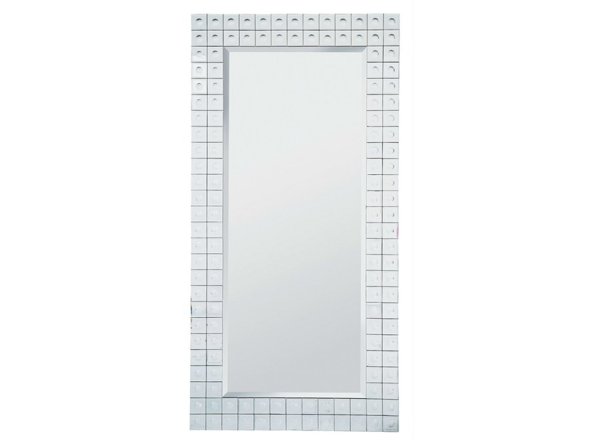 Rectangular wall-mounted framed mirror BUBBLE 156X78 - KARE-DESIGN
