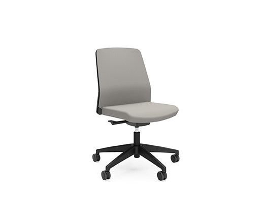 Ergonomic fabric task chair with casters BUDDY IS3 210B by Interstuhl