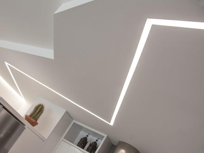 Profilo per illuminazione lineare barra profilo per illuminazione lineare brillamenti - Barre a led per interni ...