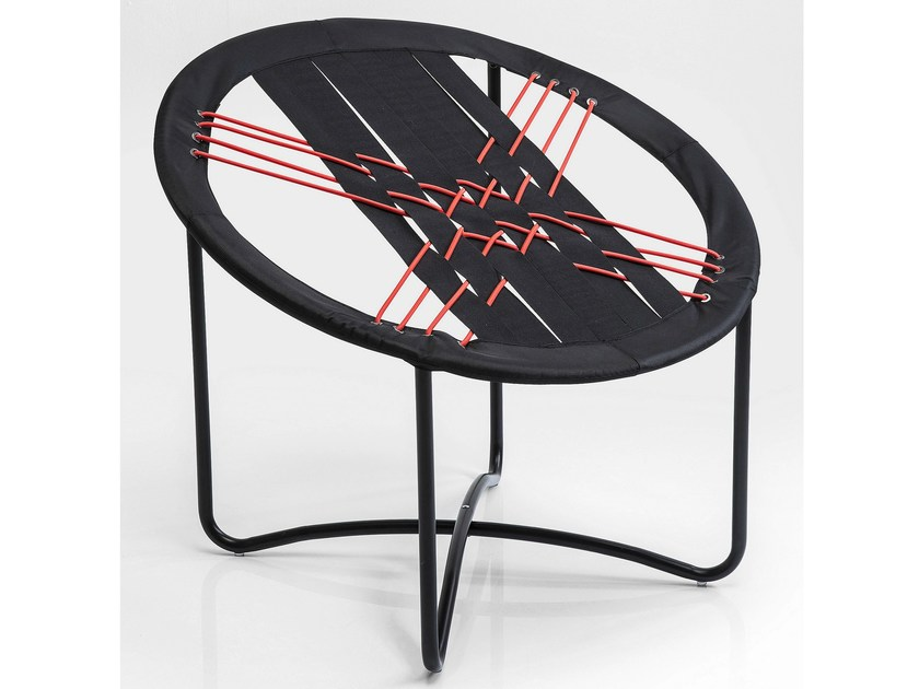 Contemporary style synthetic fibre armchair BUNGEE - KARE-DESIGN