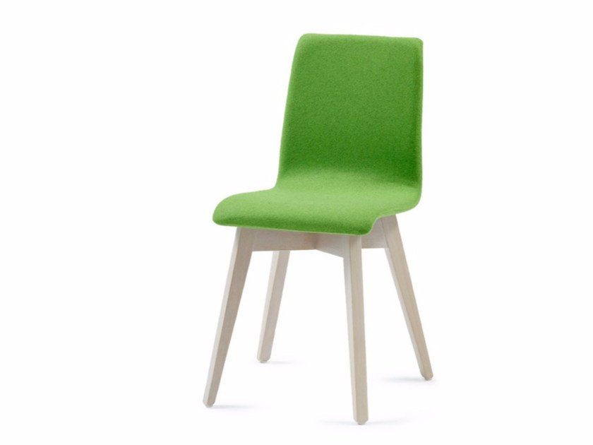 Upholstered fabric chair BUZZY 03 - Z-Editions