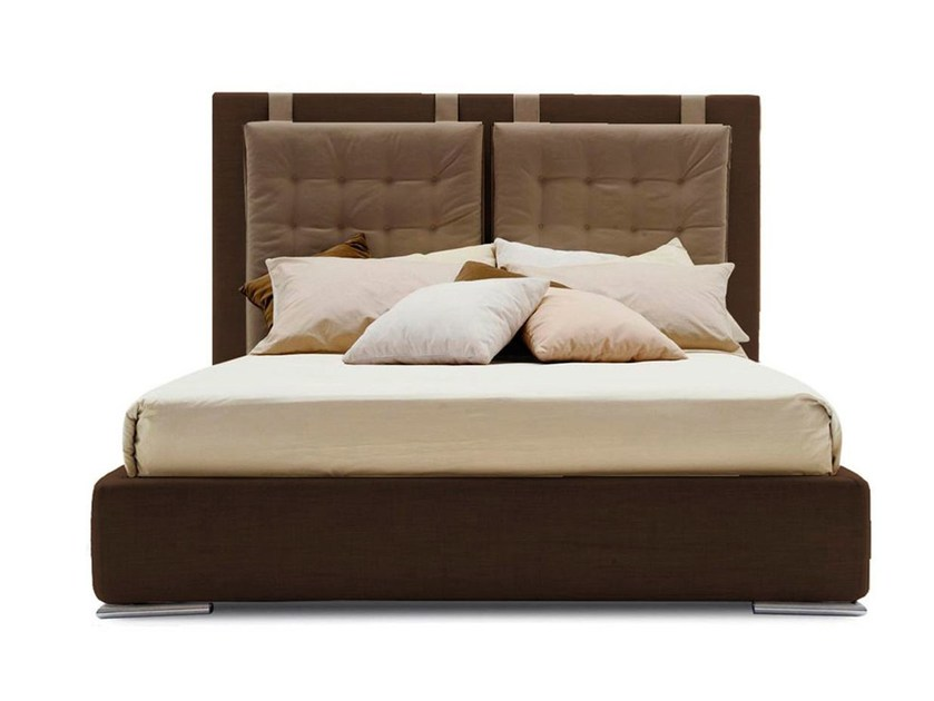 Fabric double bed C-MAX | Bed - Calligaris