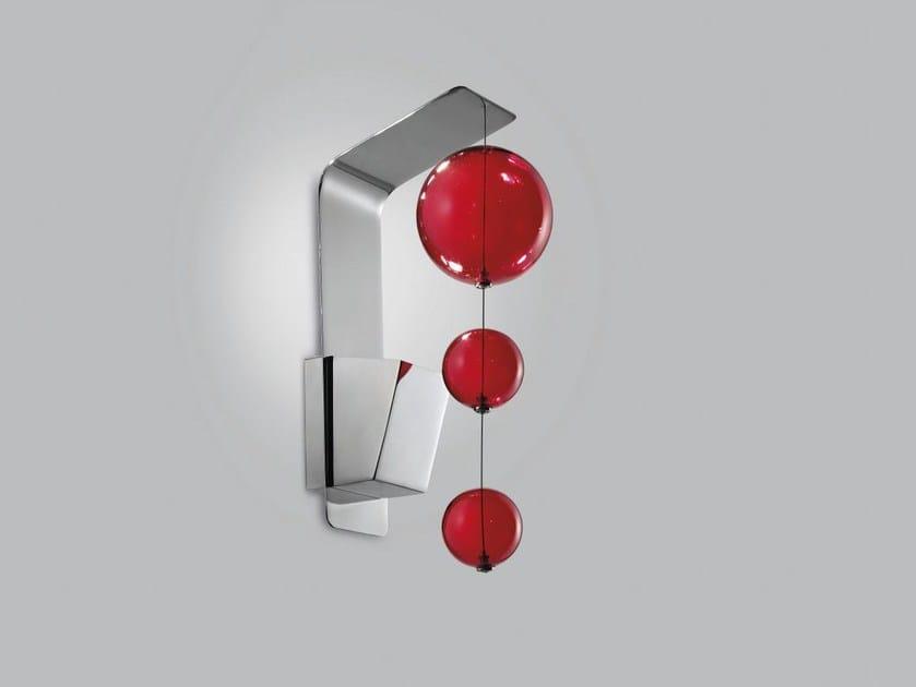 Blown glass wall light BOLERO | Wall light - Metal Lux di Baccega R. & C.