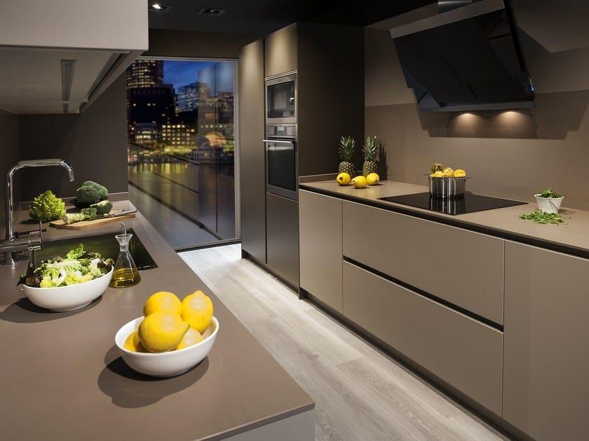 Kitchen without handles C150 by Hönnun