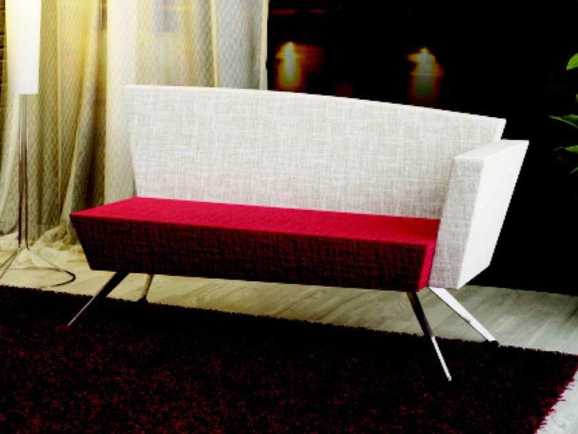 Fabric small sofa C2 DBS | Small sofa - TALIN