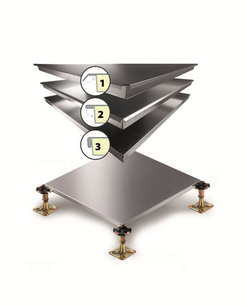 Modular system for raised flooring C3TTL000 | Modular system for raised flooring by JVP