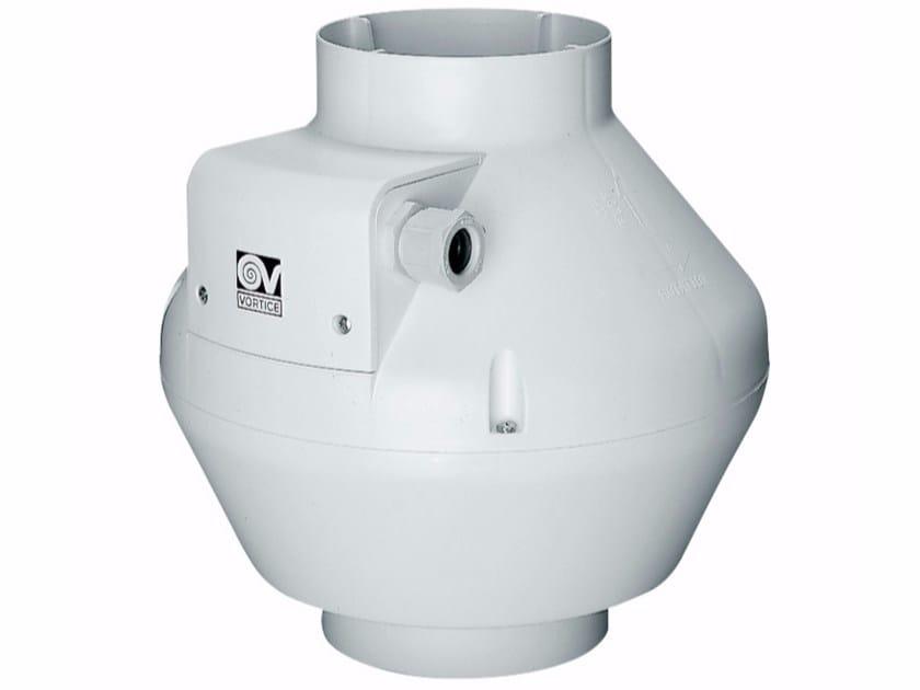 Centifugal plastic in-line fan CA 125 V0 D - Vortice Elettrosociali