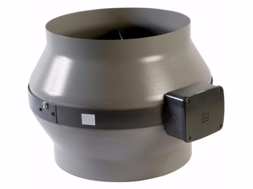 Centifugal metal in-line fan CA 150 Q MD - Vortice Elettrosociali
