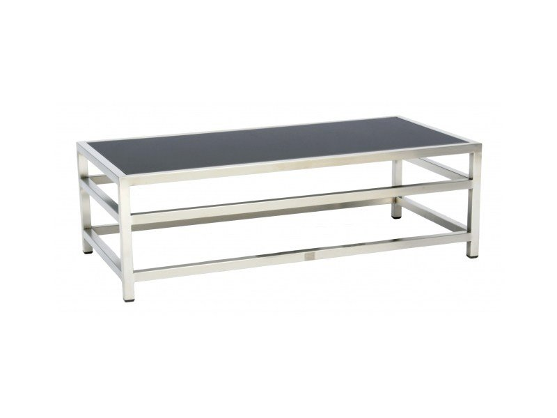 Rectangular stainless steel coffee table CABO | Coffee table by 7OCEANS DESIGNS