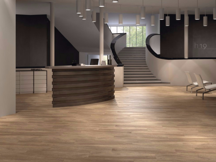 Porcelain stoneware flooring with wood effect CABREUVA DORATA - GranitiFiandre