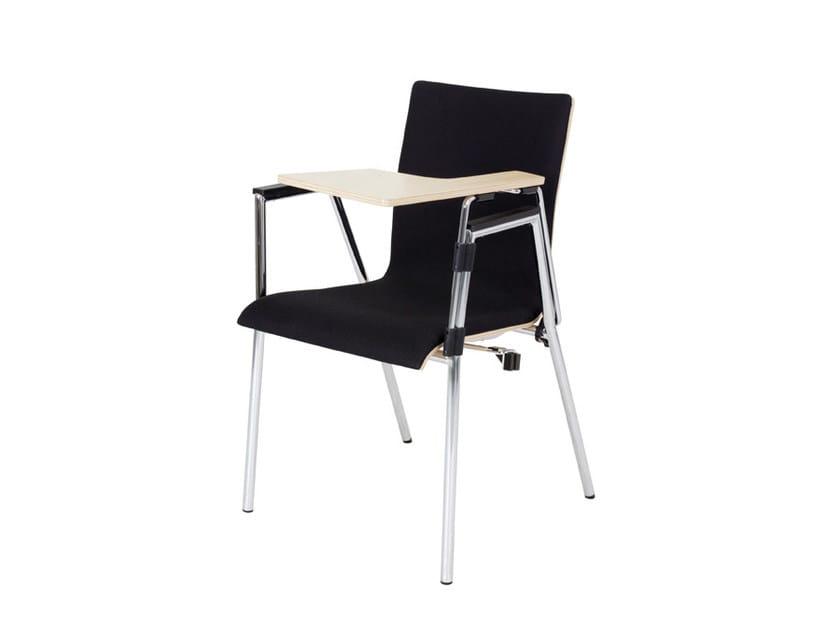 Sedie Ufficio Con Ribaltina : Sedia da conferenza impilabile in compensato con ribaltina cadeira