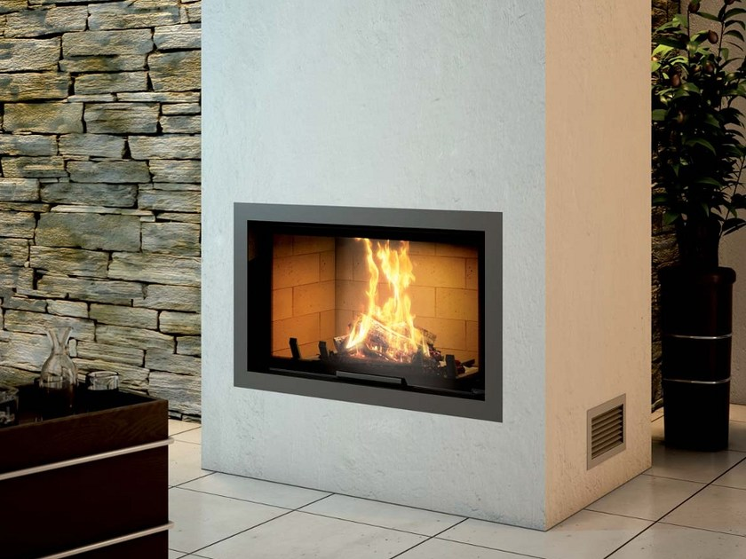Steel Fireplace Mantel CADRE DESIGN - Axis