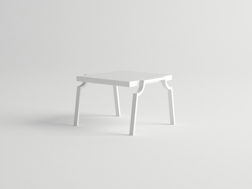 Aluminium side table CALDERA | Side table by 10Deka