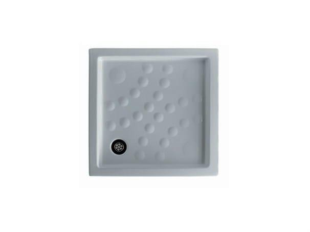 Anti-slip square shower tray CALIPSO by GALASSIA