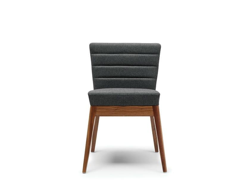 Upholstered fabric chair CALLISTO | Chair - Boss Design