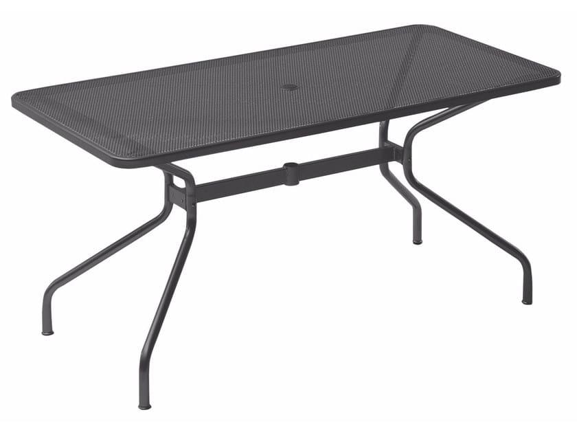 Tavolo da giardino rettangolare in acciaio CAMBI | Tavolo rettangolare - EMU Group S.p.A.