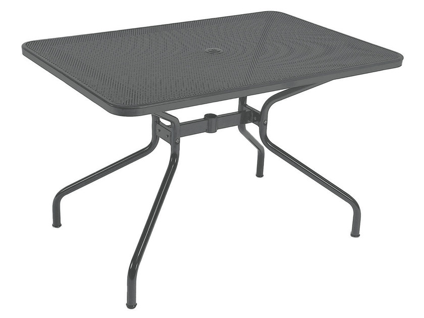 Rectangular steel garden table CAMBI | Rectangular table - EMU Group S.p.A.