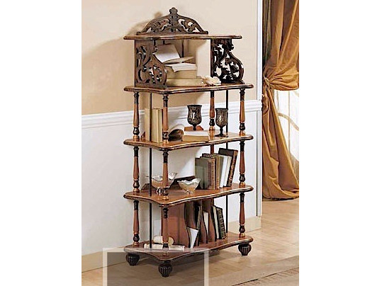Double-sided solid wood bookcase CANALETTO | Bookcase - Arvestyle