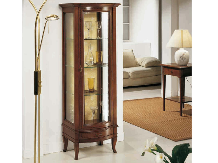 Solid wood display cabinet CANALETTO | Display cabinet by Arvestyle