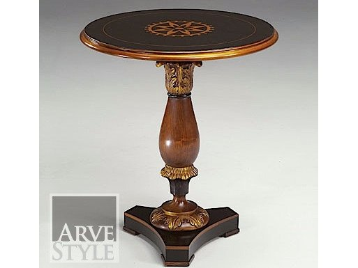 Round solid wood coffee table CANALETTO | Coffee table by Arvestyle