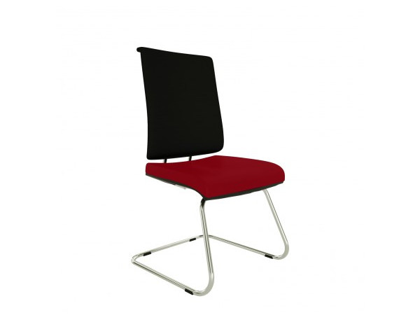 Cantilever upholstered chair ZERO7 EVO | Cantilever chair - Ares Line