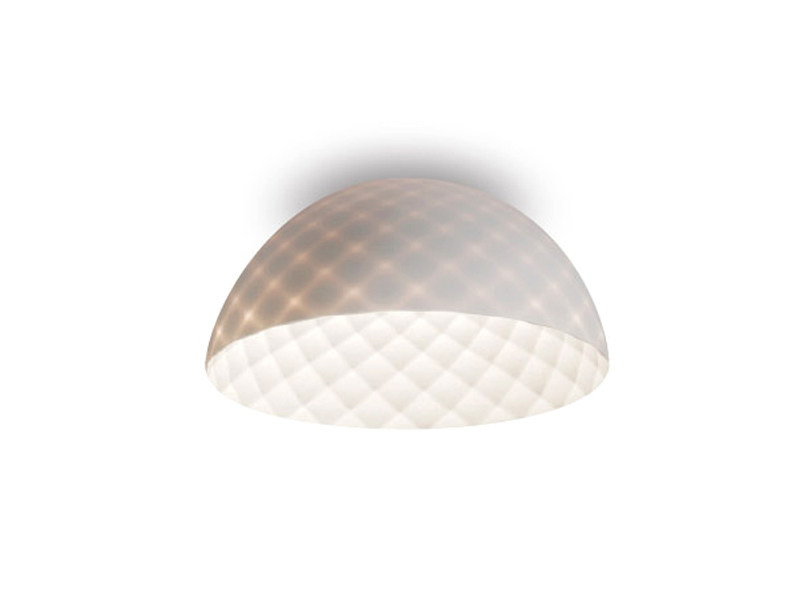 Direct light powder coated steel ceiling lamp CAPITONE | Direct light ceiling lamp - ALMA LIGHT