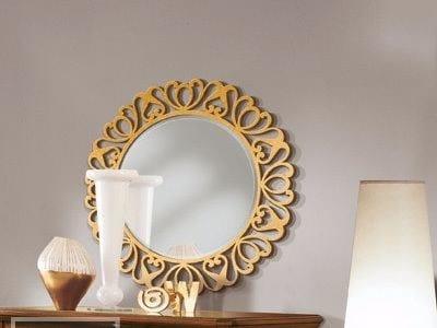 Specchio rotondo con cornice CAPRI | Specchio rotondo - Arvestyle