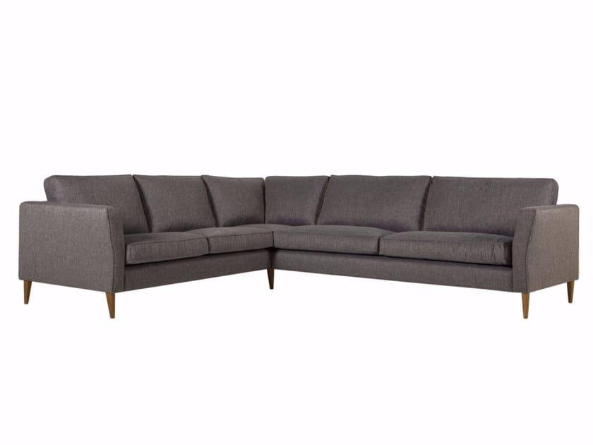 5 seater corner upholstered fabric sofa CAPRICE | Corner sofa - SITS