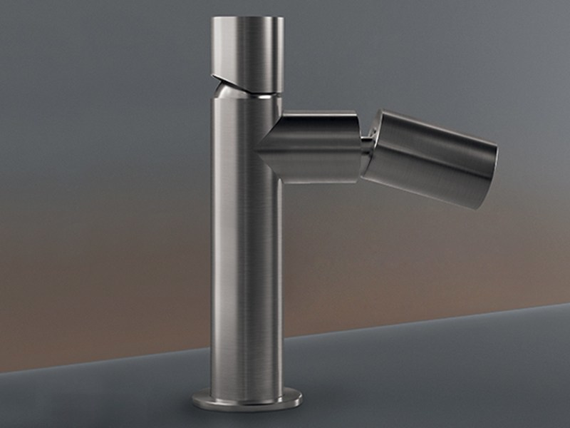 Deck mounted mixer with adjustable spout CAR 81 by Ceadesign