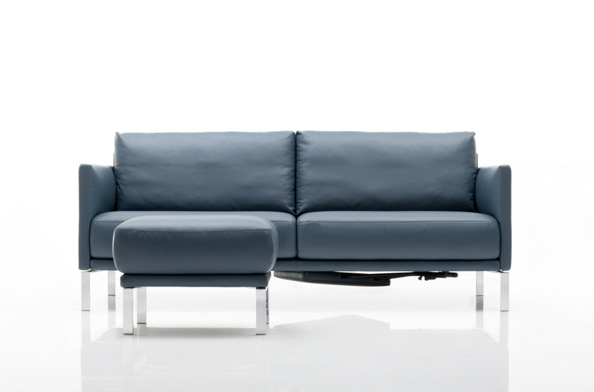 cara sofa aus leder kollektion cara by rolf benz design. Black Bedroom Furniture Sets. Home Design Ideas