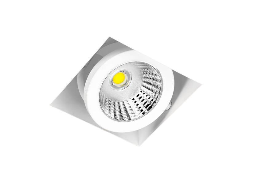 Adjustable spotlight CARDAN FRAMELESS 1 | 2 | 4 - ONOK Lighting