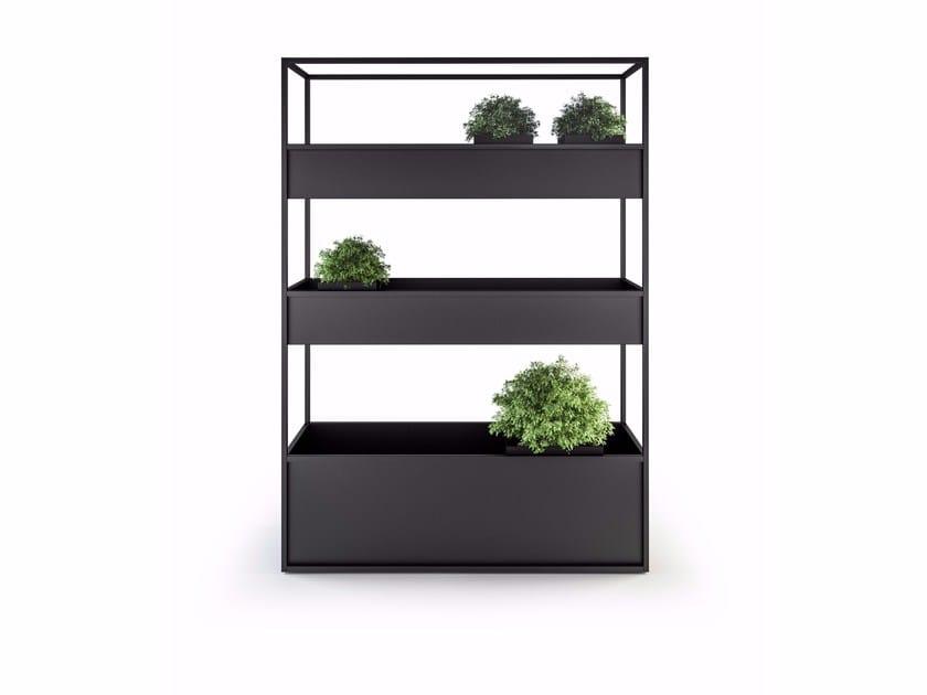 Metal planter CARL PLANTERS 1400 3 BOX by Röshults