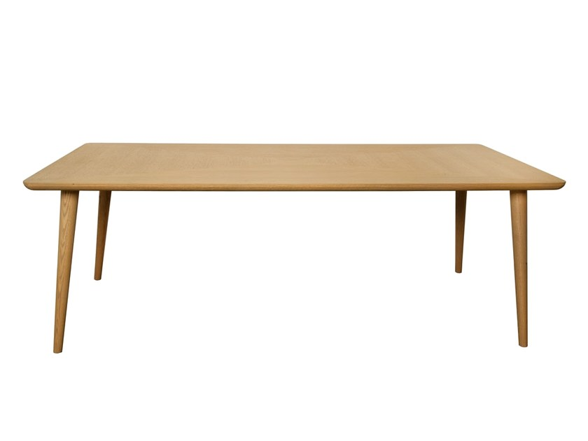 Rectangular dining table CARVOEIRO | Rectangular table - Branco sobre Branco