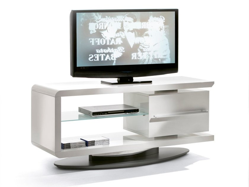 Low TV cabinet with drawers CAST - Pacini & Cappellini