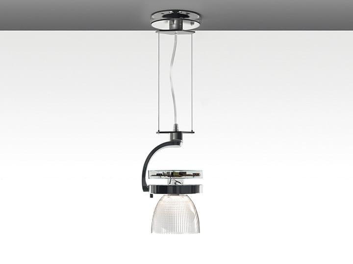 LED die cast aluminium pendant lamp CATA WIDE | Pendant lamp by Artemide