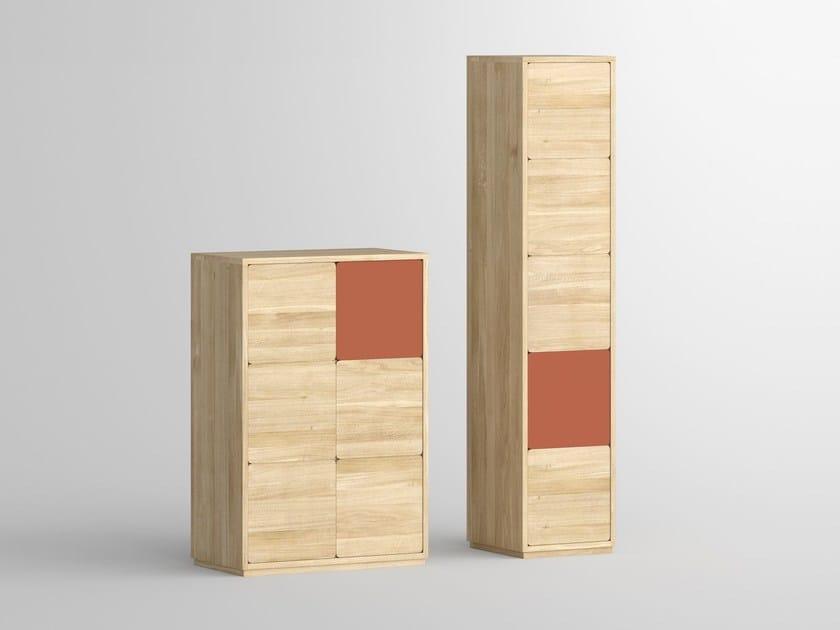 Solid wood highboard with doors CAVUS | Highboard - vitamin design