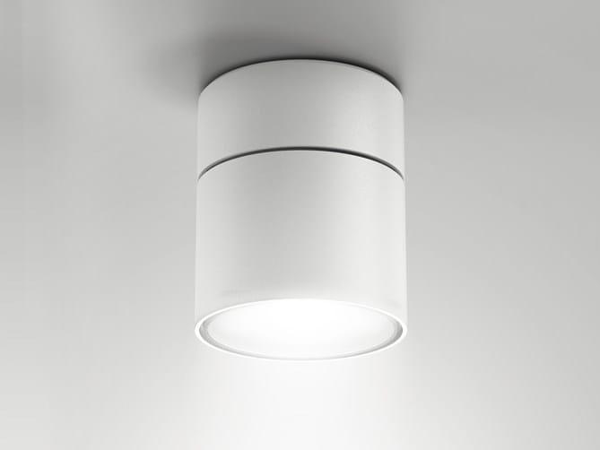 Aluminium ceiling lamp / spotlight NODE | Ceiling spotlight by Artemide