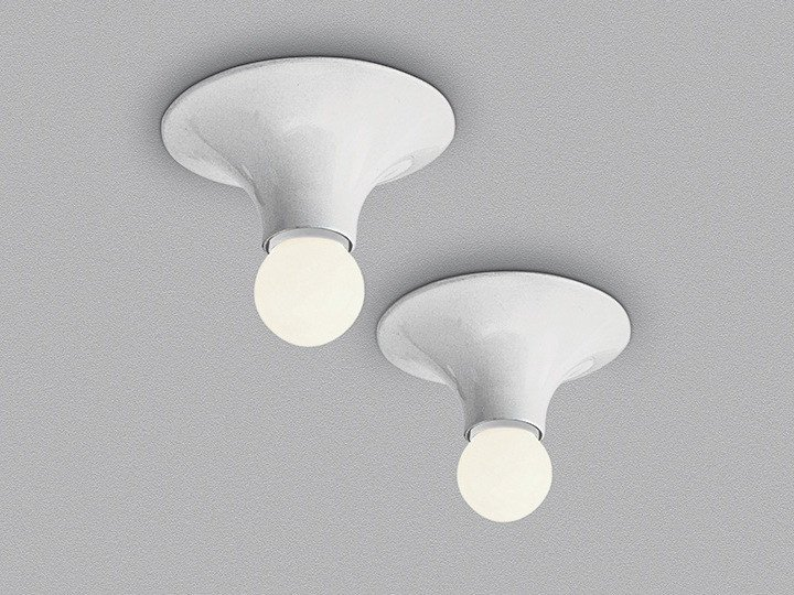 Halogen thermoplastic resin ceiling lamp TETI | Ceiling lamp - Artemide