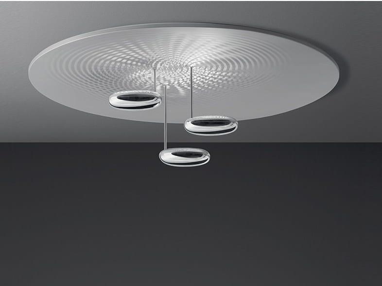 Indirect light die cast aluminium ceiling lamp DROPLET | Ceiling lamp - Artemide Italia