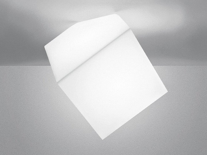 Thermoplastic resin ceiling lamp EDGE | Ceiling lamp - Artemide