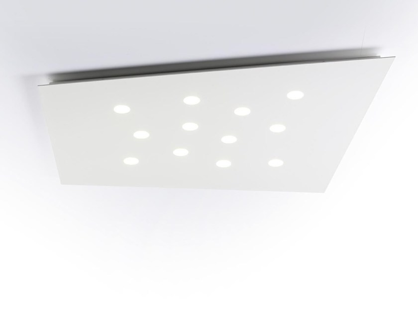LED metal ceiling light FUORISQUADRA | Ceiling lamp - Cattaneo Illuminazione