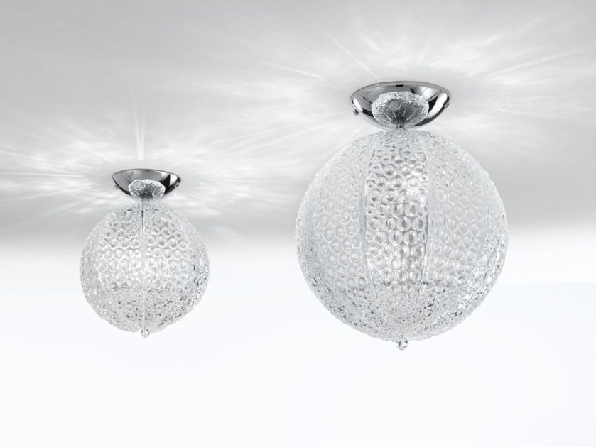Murano glass ceiling lamp LIGHT GLOBE | Ceiling lamp - IDL EXPORT