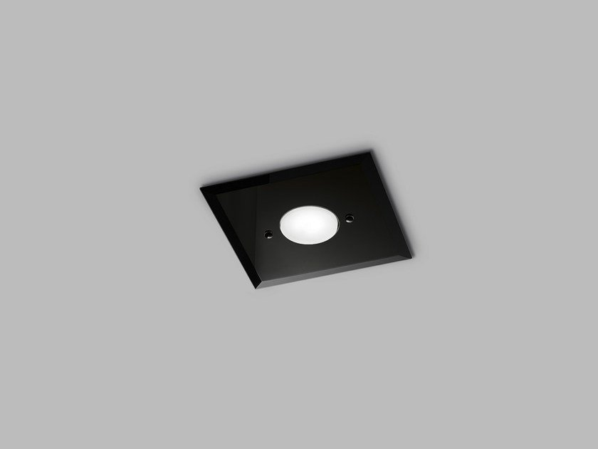 LED glass ceiling lamp DADO L 20 x 20 by Metal Lux
