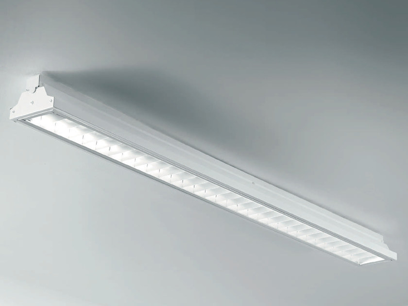 LED steel industrial ceiling light PENCIL | Ceiling lamp by PLEXIFORM
