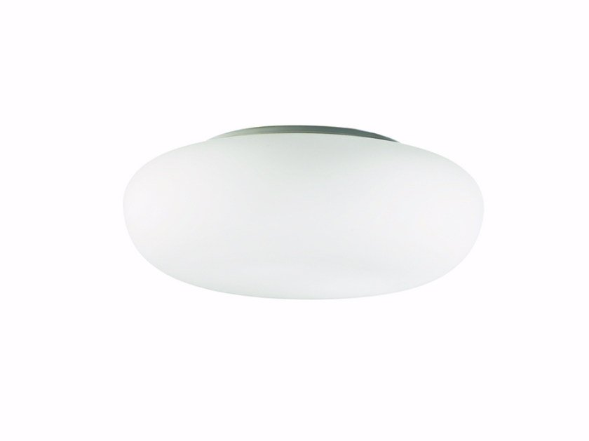 Indirect light blown glass ceiling lamp GLENN | Ceiling lamp - ROSSINI ILLUMINAZIONE