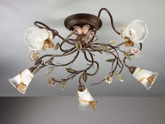 Direct light crystal ceiling light DALIA | Ceiling light - IDL EXPORT