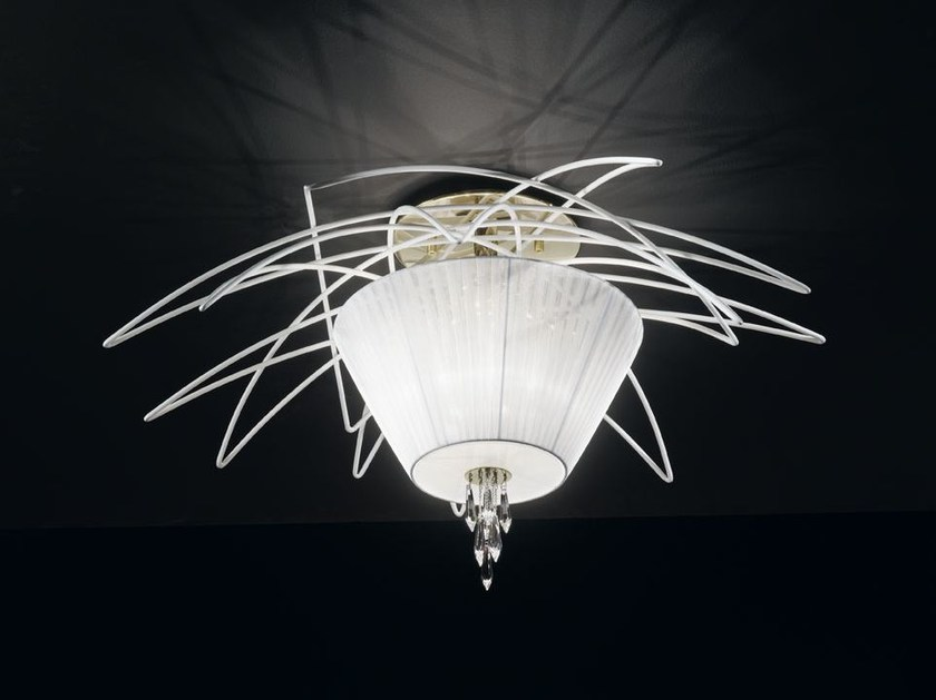 Organza ceiling light FLAME | Ceiling light - IDL EXPORT