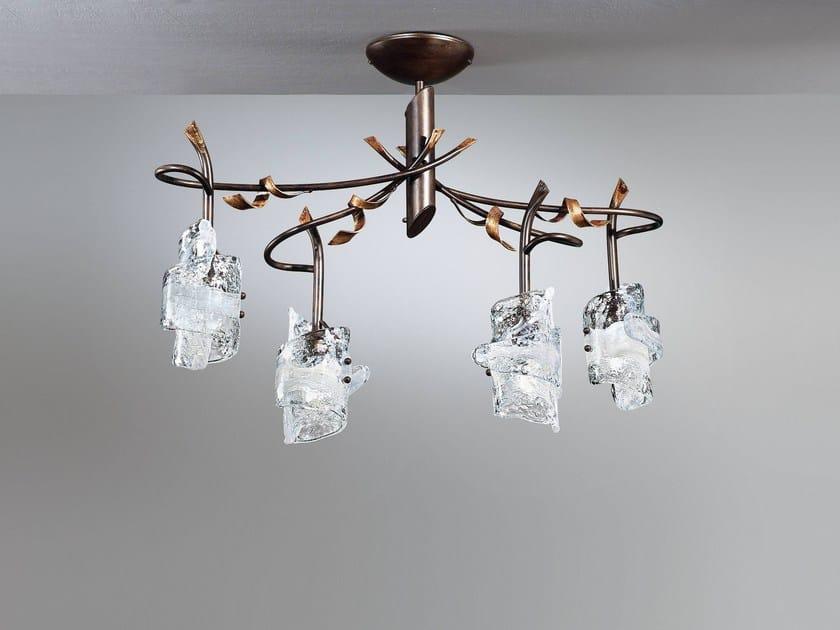 Direct light ceiling light PAPIRO | Ceiling light by IDL EXPORT