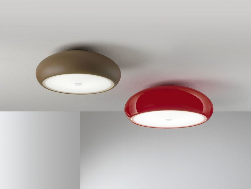 Direct light metal ceiling light PONZA | Ceiling light - IDL EXPORT