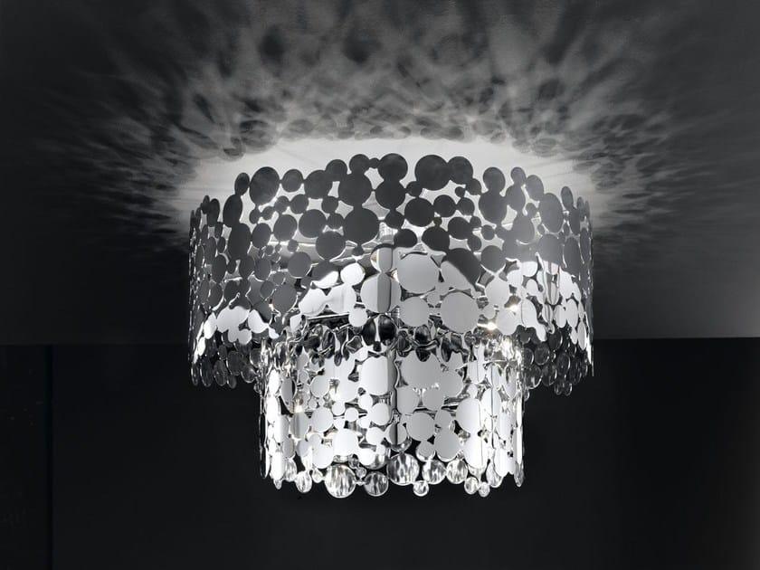 Direct-indirect light metal ceiling light BUBBLES | Ceiling light - IDL EXPORT